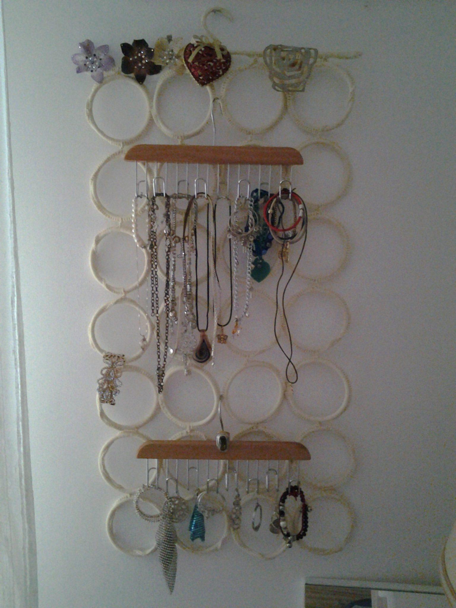 Come realizzare un porta bijoux fai da te blog di - Porta gioielli ikea ...